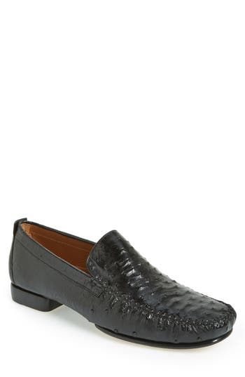 Men's Mezlan 'Rollini' Ostrich Leather Loafer