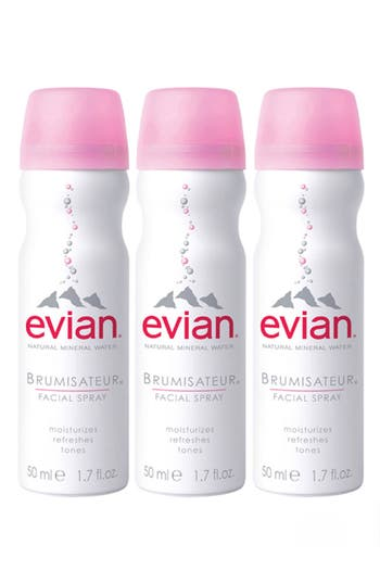 Evian Facial Water Spray Trio