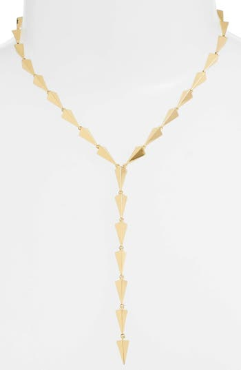 Women's Jules Smith Buffy Lariat Necklace