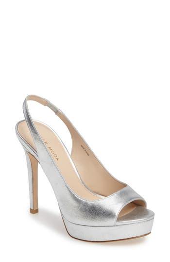 Women's Pelle Moda Oana Slingback Platform Sandal