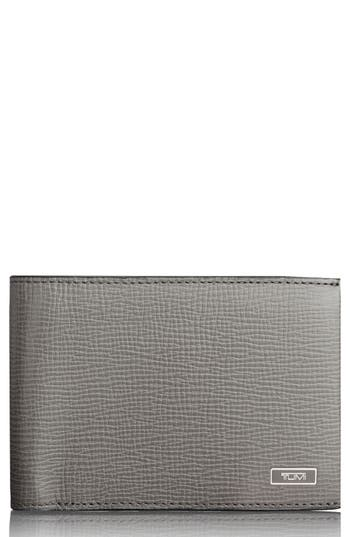 Tumi Monaco Leather Rfid Wallet -