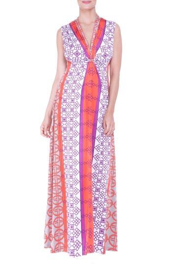 Women's Olian Empire Waist Maxi Maternity Dress