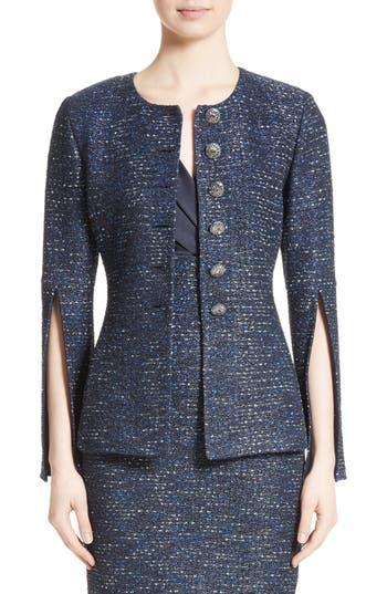 Women's St. John Collection Alisha Sparkle Tweed Jacket