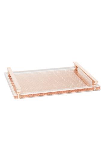 Kendra Scott Filigree Acrylic Tray, Size One Size - Metallic