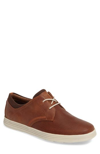 Dunham Colchester Embossed Oxford - Brown