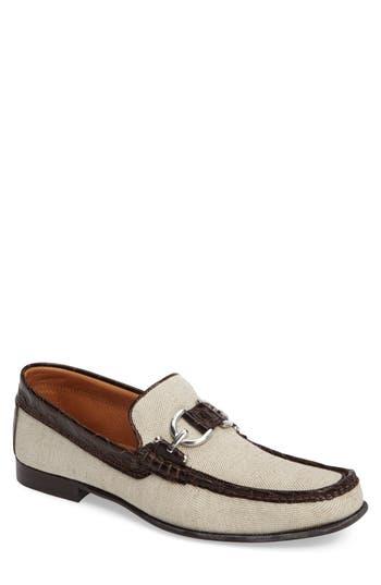 60s Mens Shoes | 70s Mens shoes – Platforms, Boots Mens Donald J Pliner Dacio Square-Toe Loafer Size 7 M - White $149.90 AT vintagedancer.com