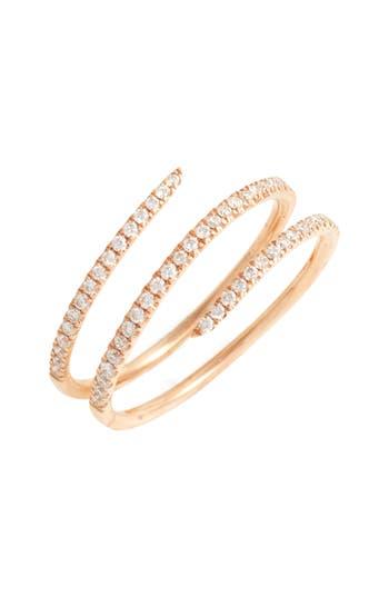Women's Bony Levy Diamond Coil Ring (Nordstrom Exclusive)