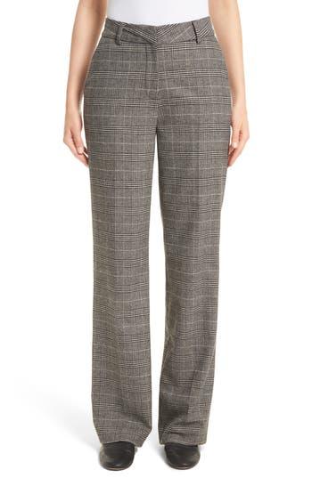Women's Joie Kaledas Plaid Pants, Size 0 - Black
