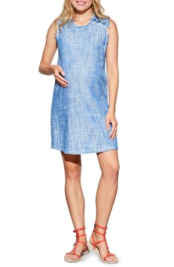 Women's Maternal America Sleeveless Maternity Dress