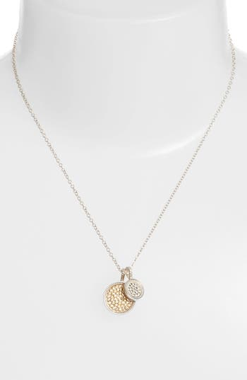 Women's Anna Beck Reversible Disc Pendant Necklace
