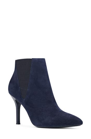 Nine West Pointy Toe Bootie, Blue