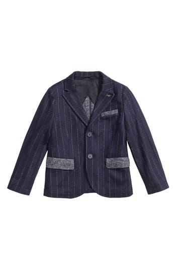 Boy's Armani Junior Pinstripe Blazer