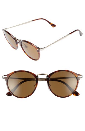 Men's Persol Sartoria Typewriter 51Mm Polarized Sunglasses -