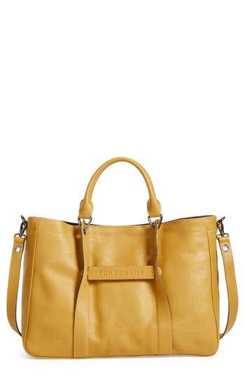 Longchamp 3D Leather Tote -