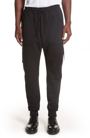 Drifter Muldoom Cargo Jogger Pants, Black