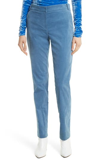 Women's Tibi Moleskin Stretch Cotton Skinny Pants