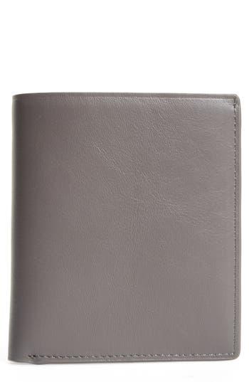 Want Les Essentiels Bradley Bifold Leather Wallet - Grey