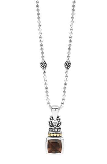 Women's Lagos 'Caviar Color' Pendant Necklace