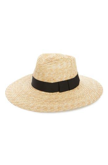 Brixton 'JOANNA' STRAW HAT - BEIGE