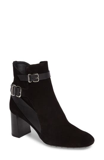 Tod's  TODS DOUBLE BELT STRAP BOOTIE