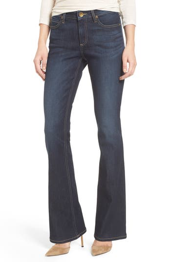 Petite Women's Kut From The Kloth Natalie Curvy Fit Bootleg Jeans