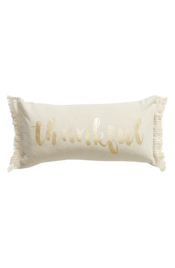 Levtex Thankful Accent Pillow, Size One Size - Beige