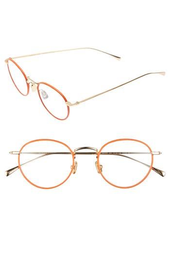 Derek Lam 47Mm Optical Glasses - Orange