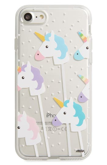 Milkyway Unicorns Iphone 7 Case - White