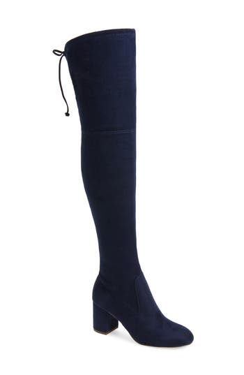 Charles By Charles David Owen Over The Knee Boot, Blue