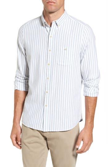 Men's Michael Bastian Trim Fit Vertical Stripe Sport Shirt