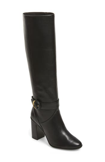 Ted Baker London Alrami Knee High Boot, Black