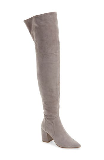 Linea Paolo Bella Over The Knee Boot, Grey