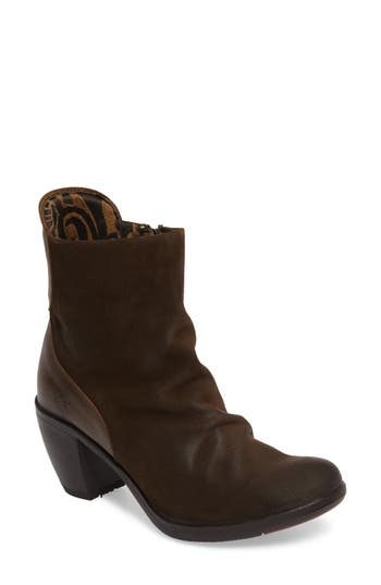 Fly London Hota Slouch Bootie - Brown