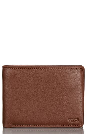 Tumi Leather Wallet - Brown