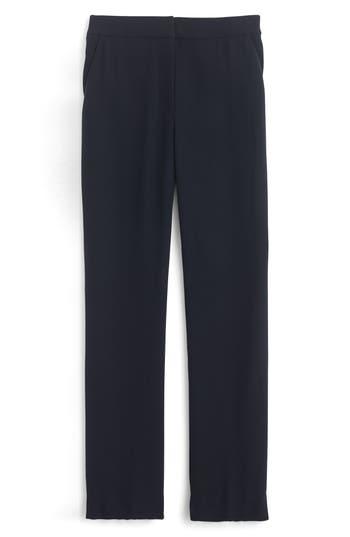 Petite Women's J.crew New Easy Matte Crepe Pants