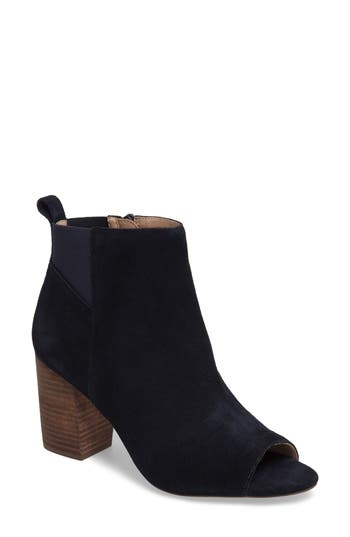 Sole Society Vita Peep Toe Bootie, Blue