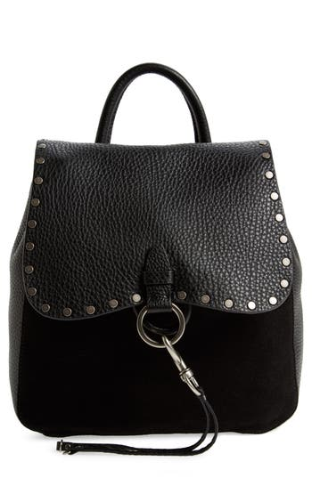 Rebecca Minkoff Small Keith Suede & Leather Backpack -