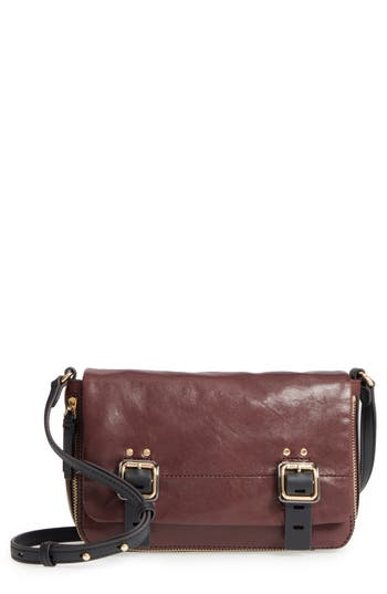 Vince Camuto Delos Leather Crossbody Bag - Black