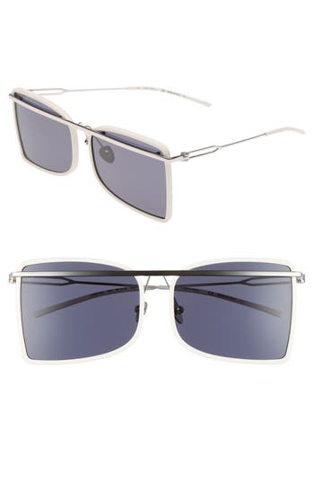 Calvin Klein 205W39Nyc 60Mm Butterfly Sunglasses - White
