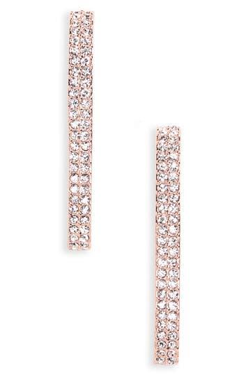 Women's Nadri Linear Crystal Earrings