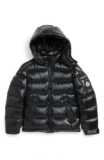 Boy's Moncler Maya Hooded Down Jacket