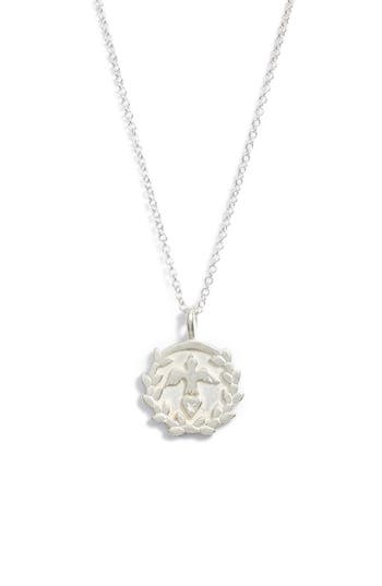 Women's Dogeared Legacy - Peace Love Prosperity Multi-Icon Pendant Necklace