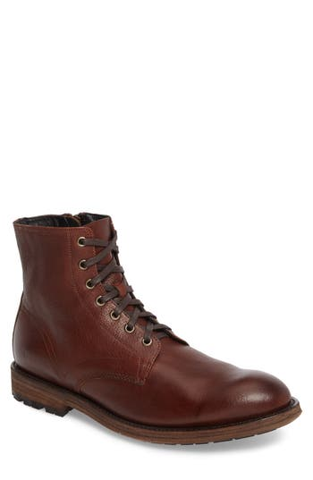 Frye Bowery Plain Toe Boot, Brown