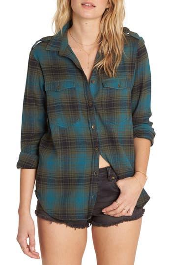 Women's Billabong Venture Out Flannel Shirt