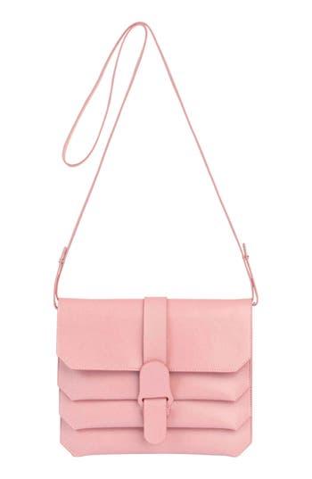 Senreve Pebbled Leather Crossbody Bag - Pink