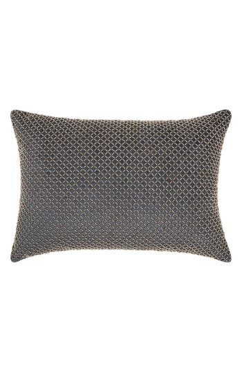 Mina Victory Cobble Jewel Accent Pillow, Size One Size - Blue