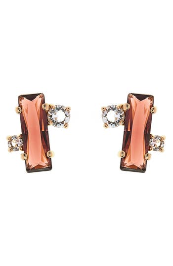 Women's Ted Baker London Bria Baguette Cluster Earrings