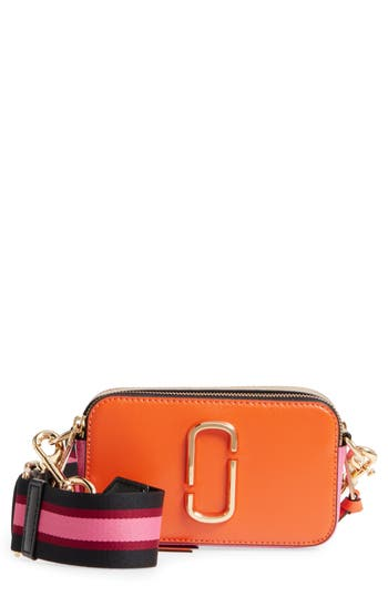 Marc Jacobs Snapshot Crossbody Bag - Orange