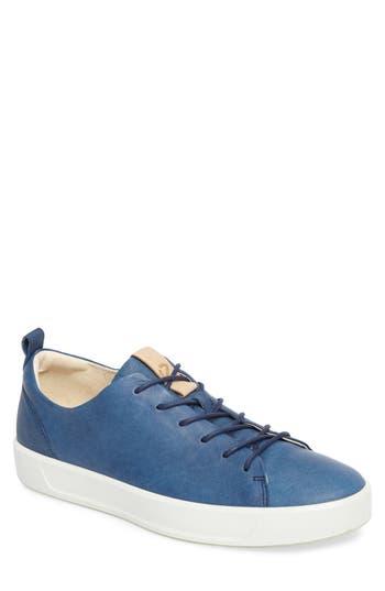 Ecco Soft 8 Sneaker - Blue