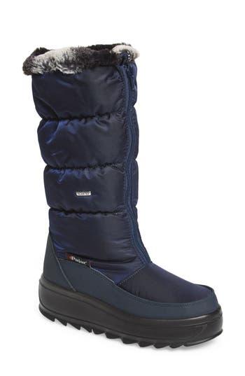Pajar Toboggan 2 Faux Fur Trim Insulated Waterproof Boot, Blue
